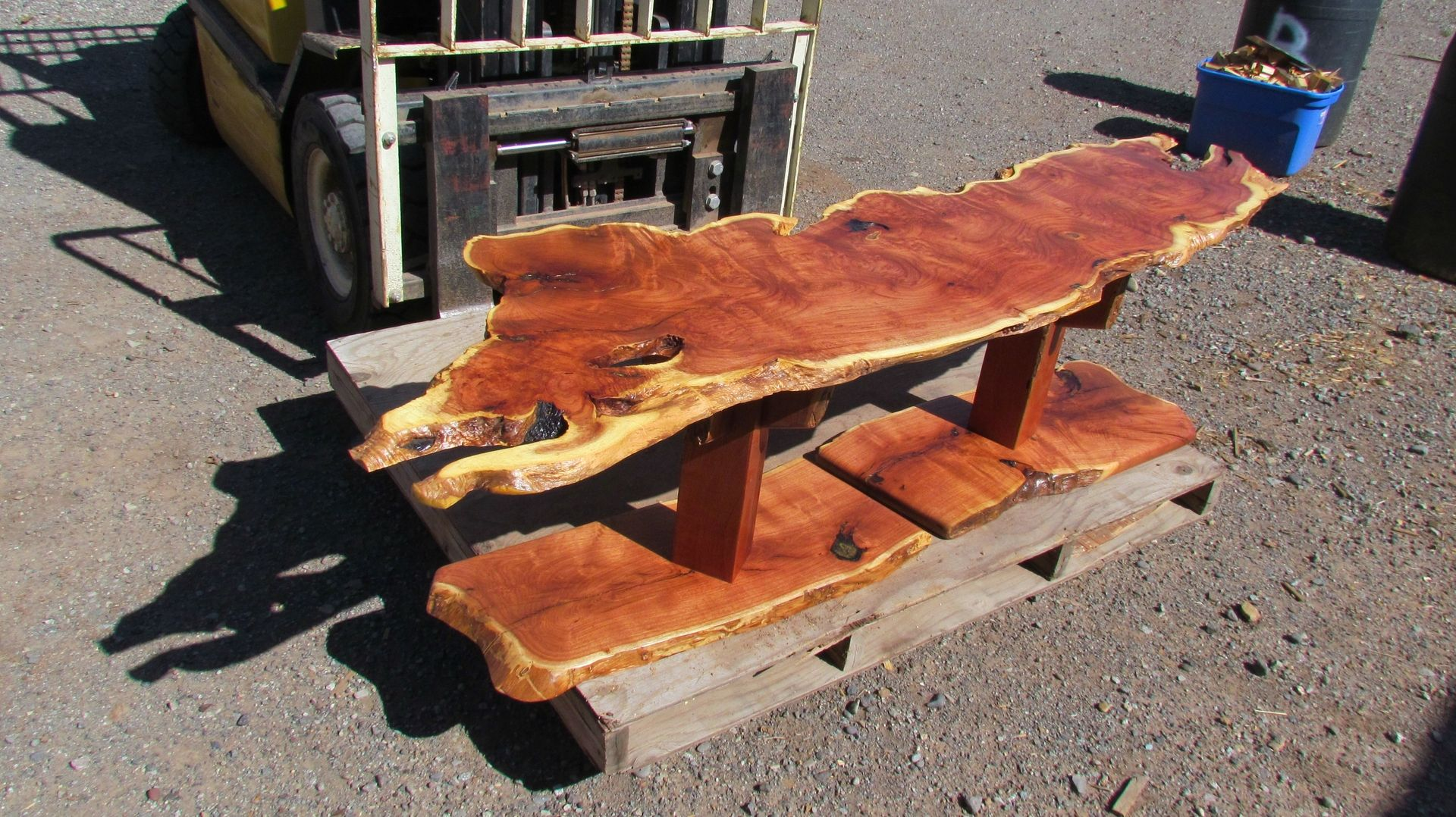Handmade For Sale Mesquite Coffee Table By The Woodsmith Llc