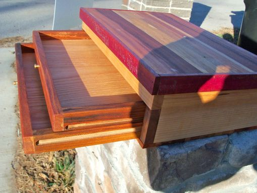 Custom Made One-Of-A-Kind Wooden Jewelry Box