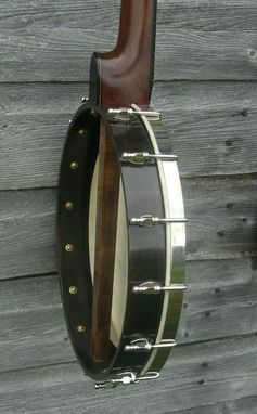 Custom Made Flush Fret 5 String Openback Banjo Inspired By A. C. Fairbanks & H. C. Dobson