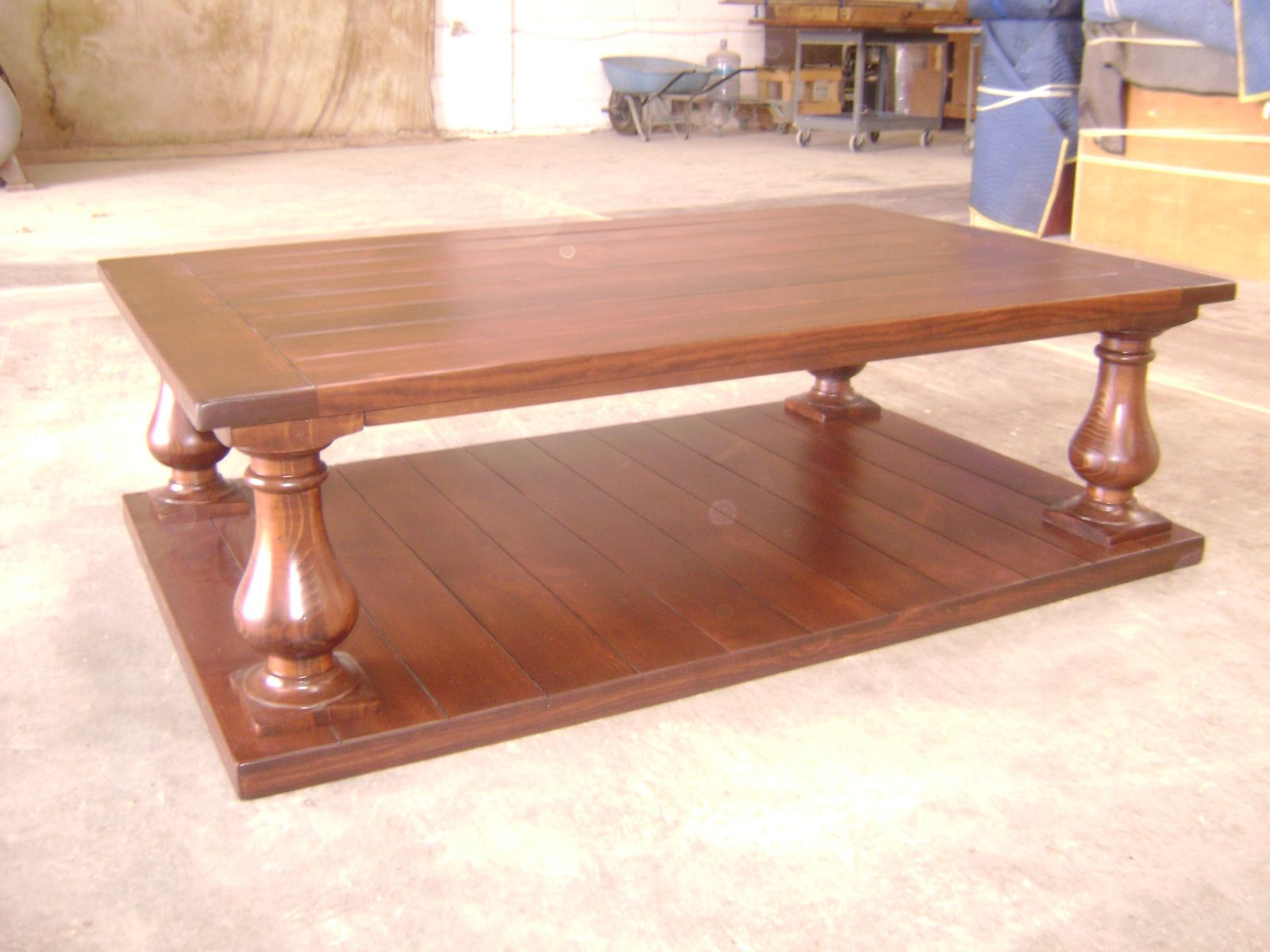 Hand Made Pine Coffee Table By Philip Skinner Furniture