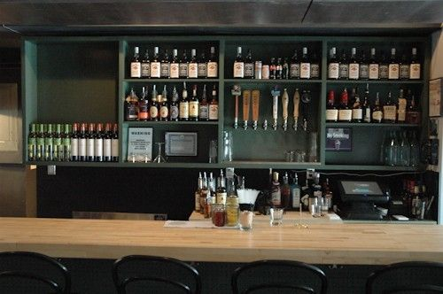 Hand Crafted Bar Shelving By Sawn Custom Woodwork