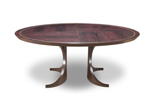 Custom Made Contemporary Oval Table