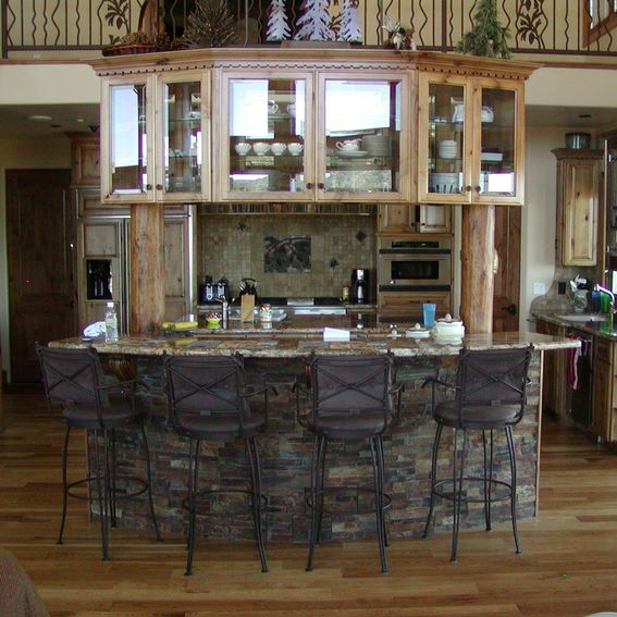 Kitchen Cabinets Made To Order: Hand Crafted Knotty Alder Custom Made Kitchen Cabinets