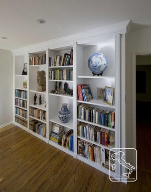 Custom Made Bookcase White