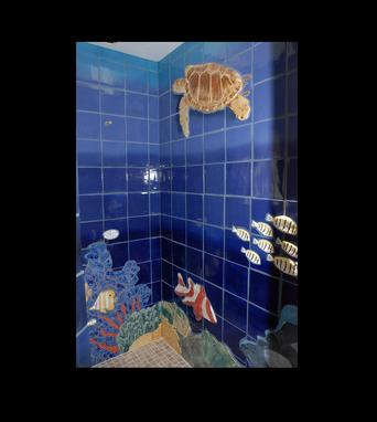 Custom Made Underwater Sea Life Shower