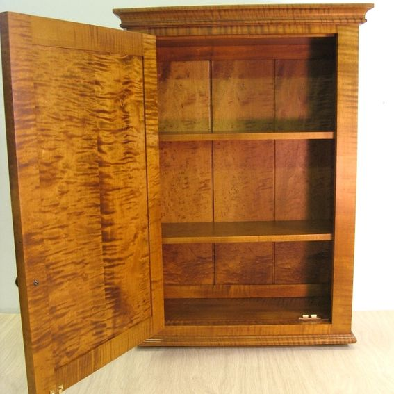 wall spice cabinet tiger maple spice cabinet wall. Black Bedroom Furniture Sets. Home Design Ideas