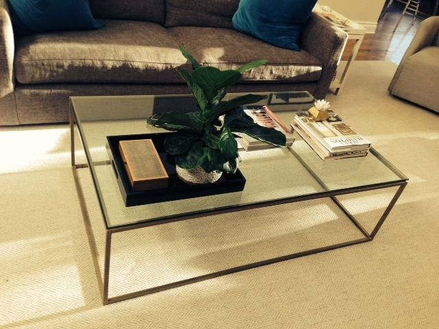 Cube Coffee Table Frame