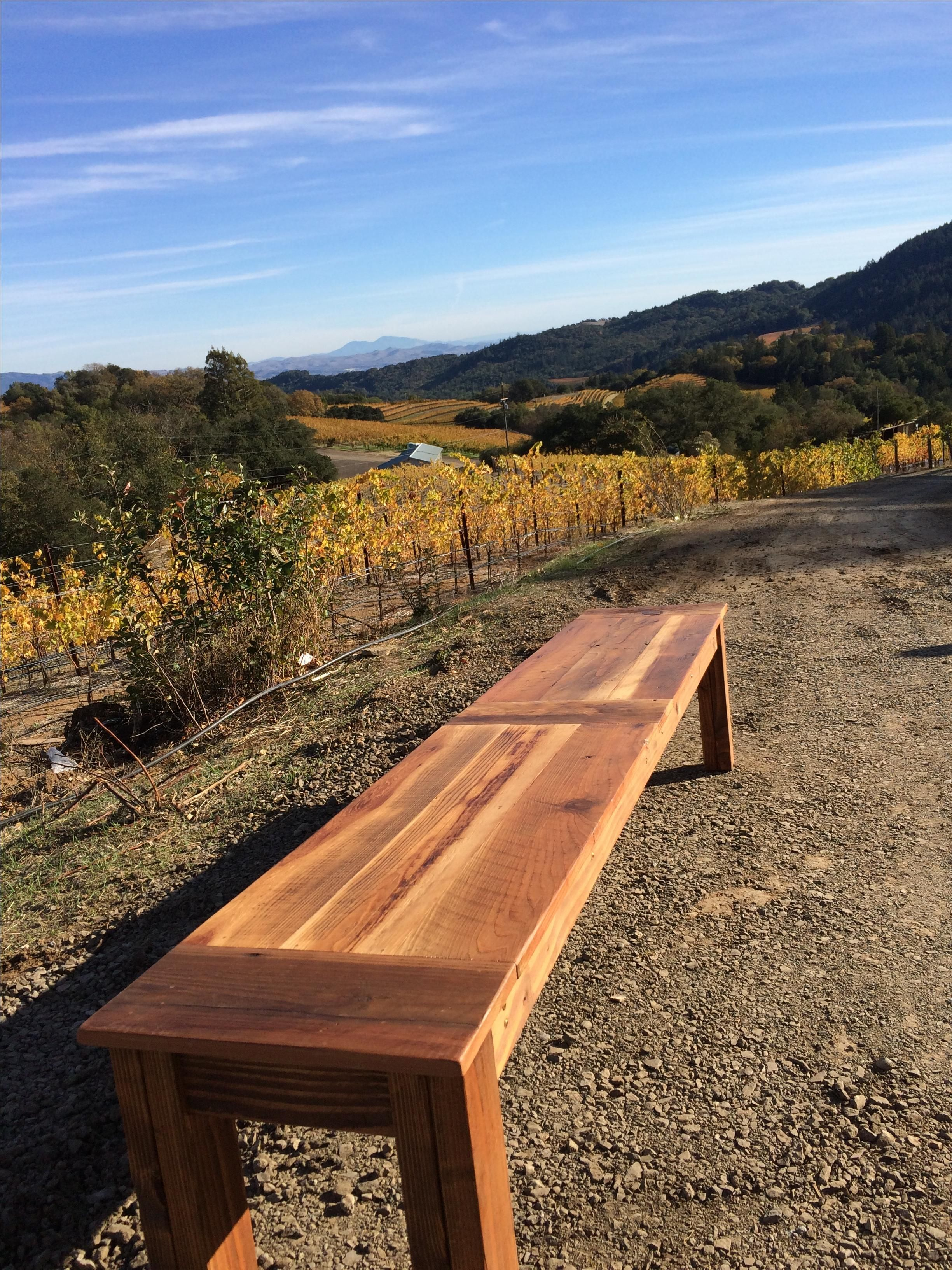 Hand crafted extra long farm table by urban mining company for Extra long farmhouse table