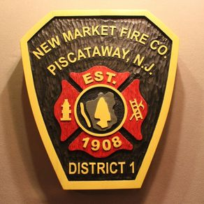 Custom signs personalized wood signs - Garden city park fire department ...