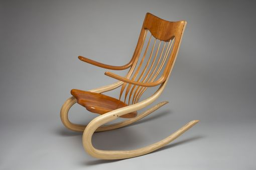 Custom Made Stephanie's Bent Wood Rocker