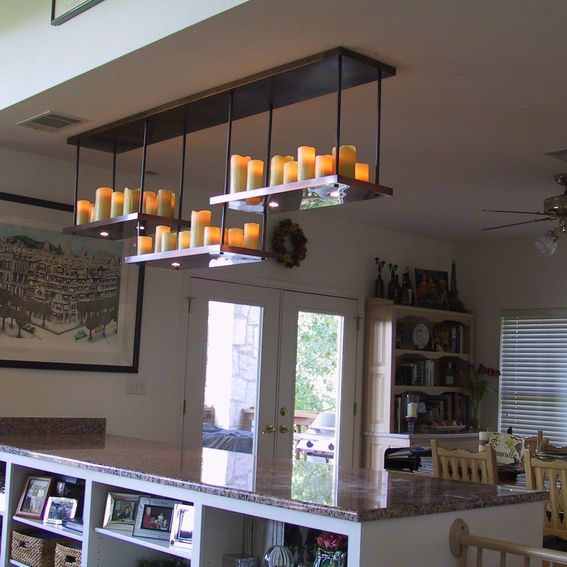 Electric Candle Chandelier