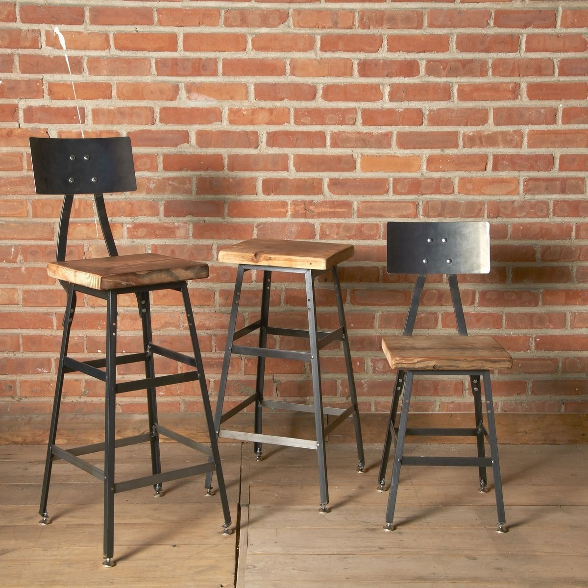 Bar Custom Wood And Woods: Buy A Custom Reclaimed Wood Bar Stool, Made To Order From