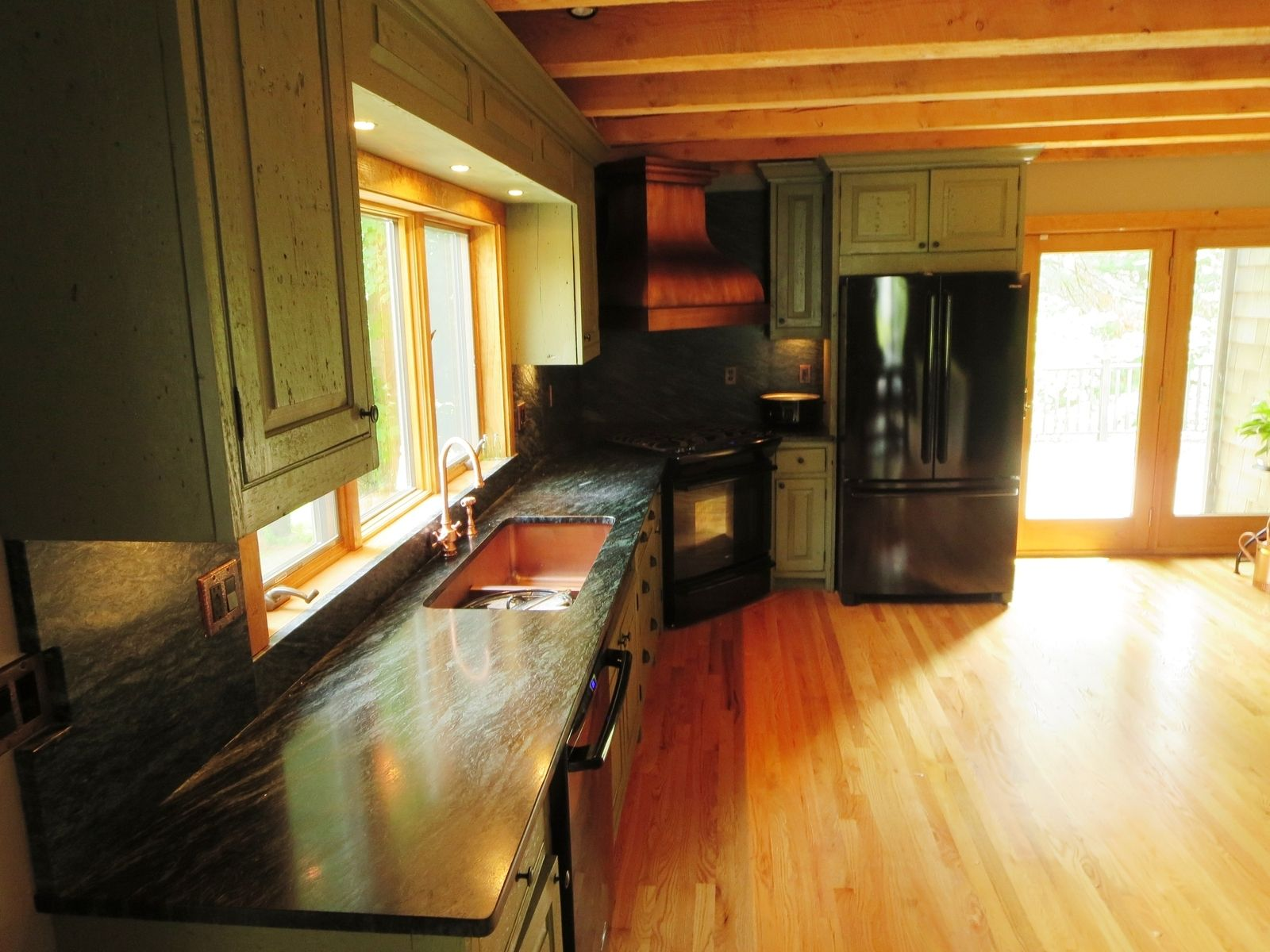 Wonderful image of Hand Made Barn Wood Kitchen Cabinets & More by E.B. Mann CustomMade  with #B54910 color and 1600x1200 pixels