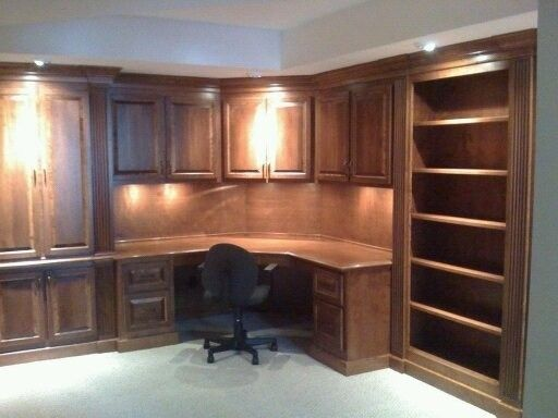 Hand Made Office Desk By Monarch Cabinetry Custommade Com
