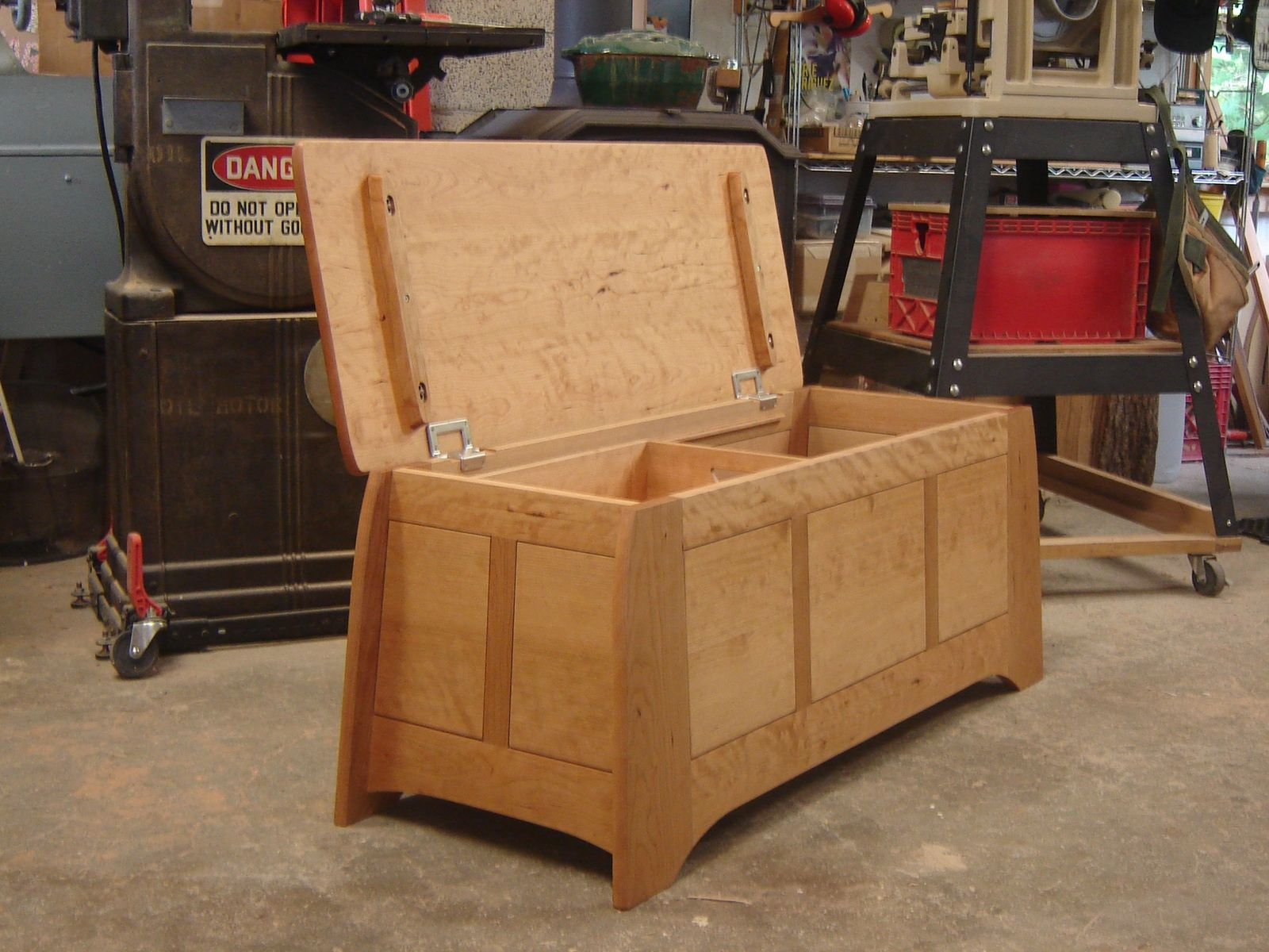 Custom Fw Blanket Chest By Peter S Turner Furnituremaker