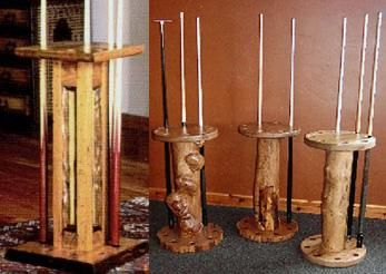 Custom Made Billiard Table Companion Pieces (Racks, Stands, And Accessories)