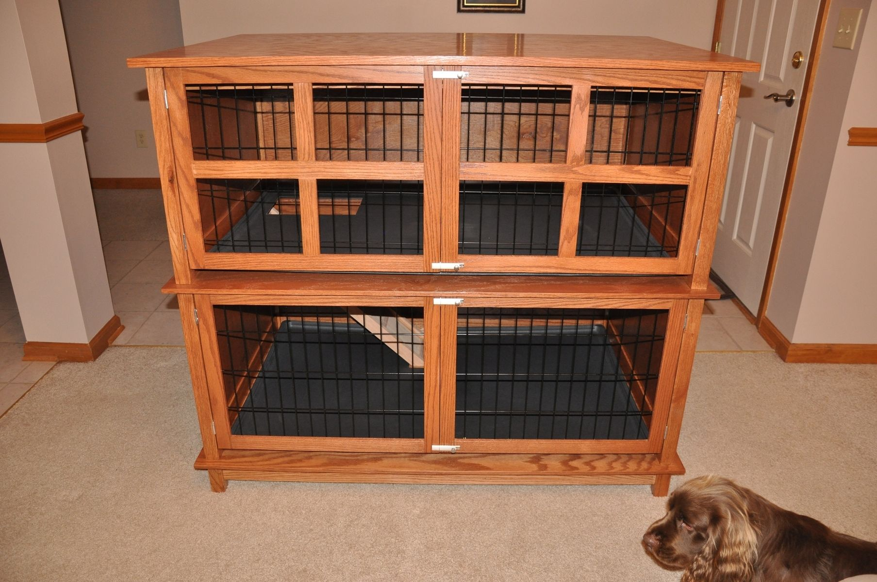 Hand Crafted Rabbit Hutch By O Donnell Woodcraft