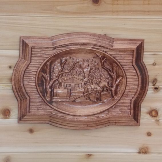 Rustic Motors 3d Custom Made Jewelry Home: Hand Made Old Farm Wood Art Wall Hanging Maple Hardwood