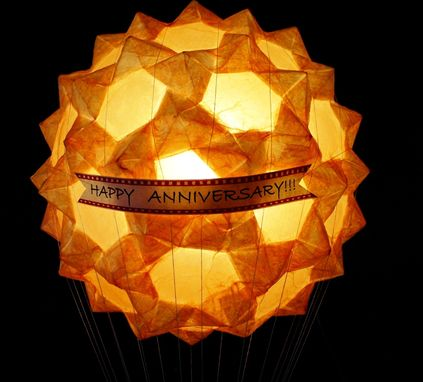Custom Made Custom Hot Air Balloon Luminary Sculpture