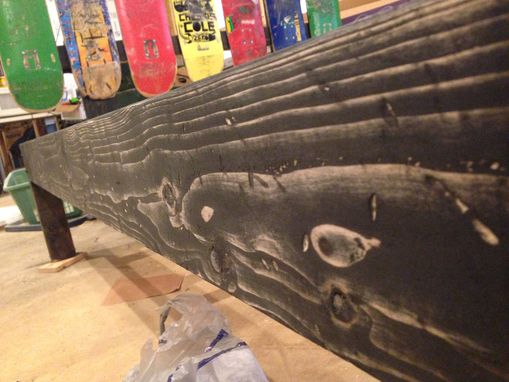 Buy A Custom Upcycled Skateboard Headboard And Queen Bed