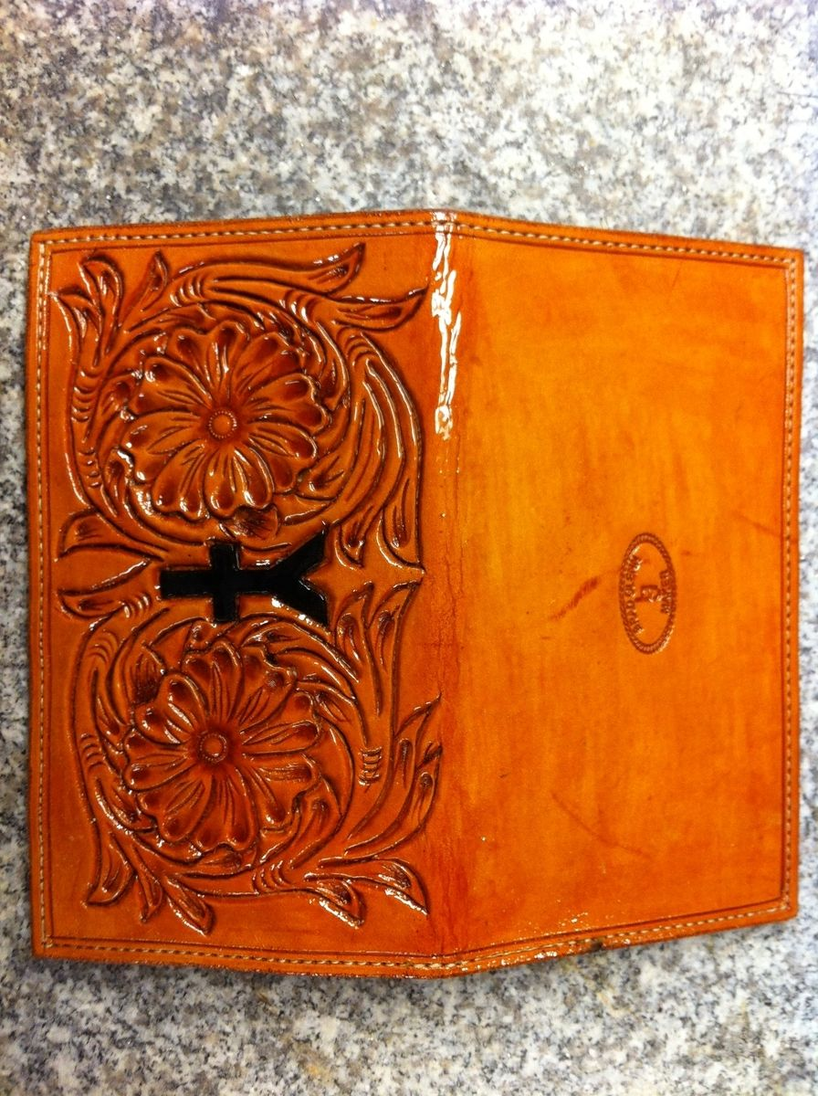 Handmade Womens Wallet By B G Leather And Boot Shop