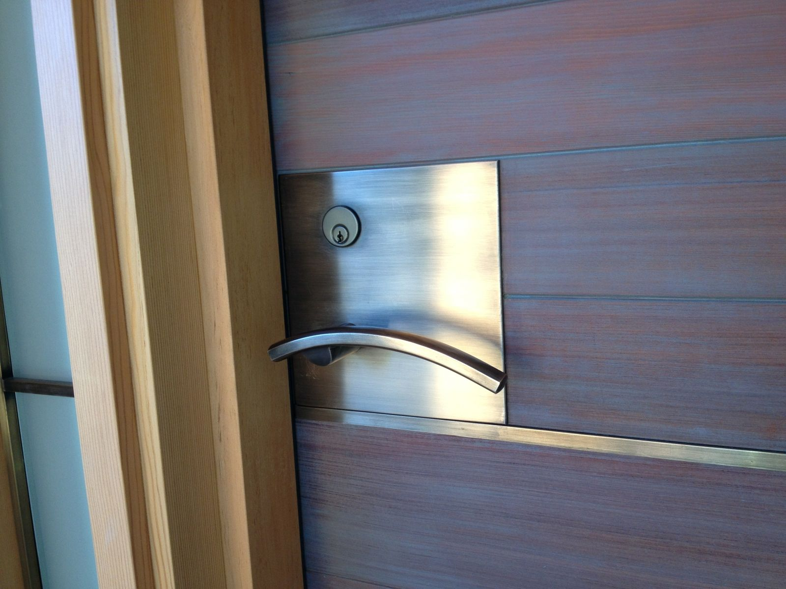 Silicon Bronze Door Handles Levers And Accents