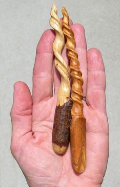 Custom Made Branch Cork Screw Hair Sticks