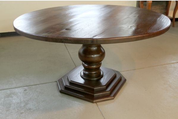 Hand Crafted 60 Quot Round Dining Room Table With Custom
