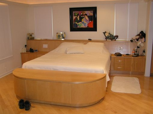 Custom Built In Bed And Headboard By Cabinetmaker Cabinets