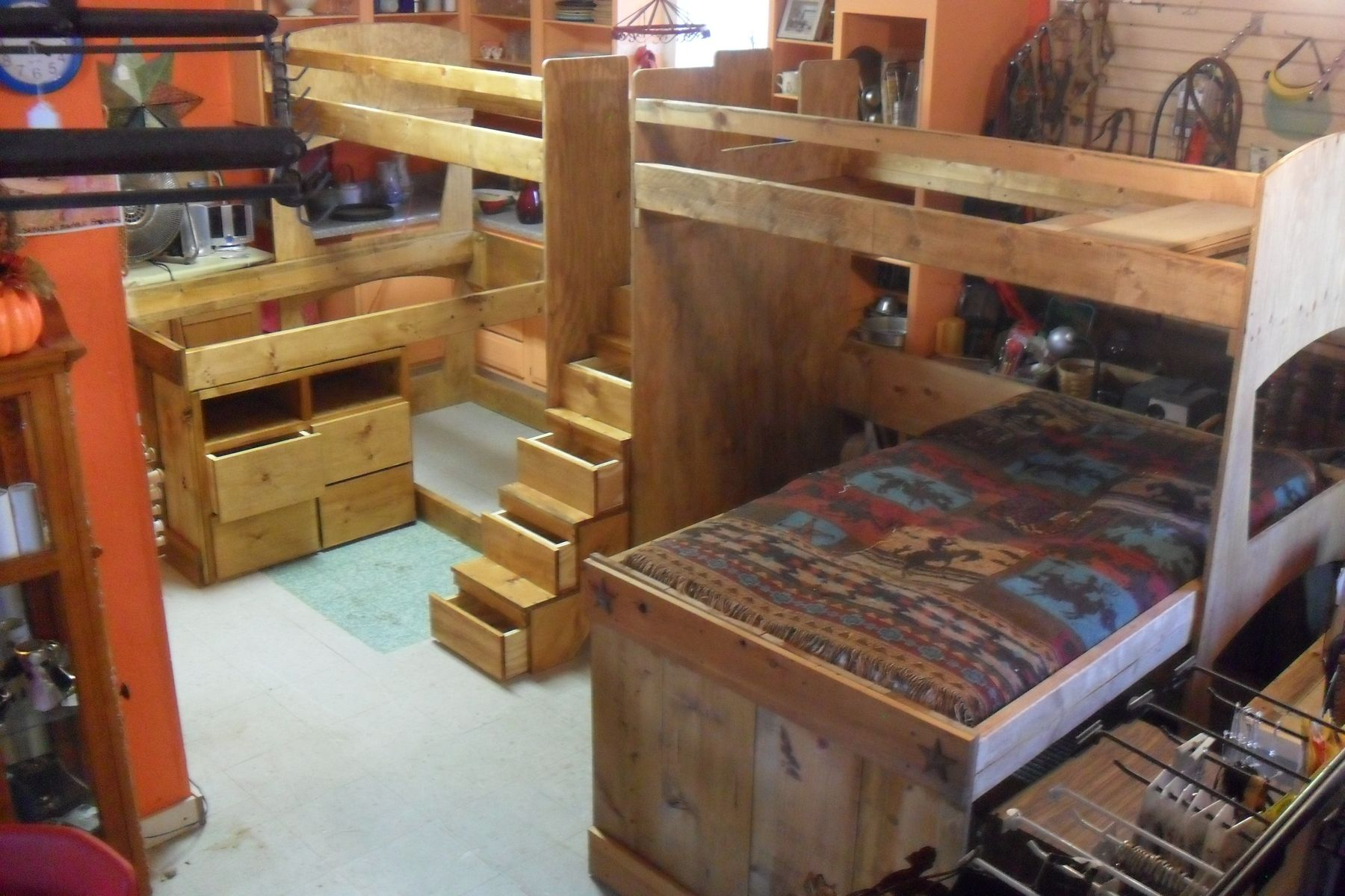 Handmade Bunk Beds Loft Beds Triple Bunk Beds Twin
