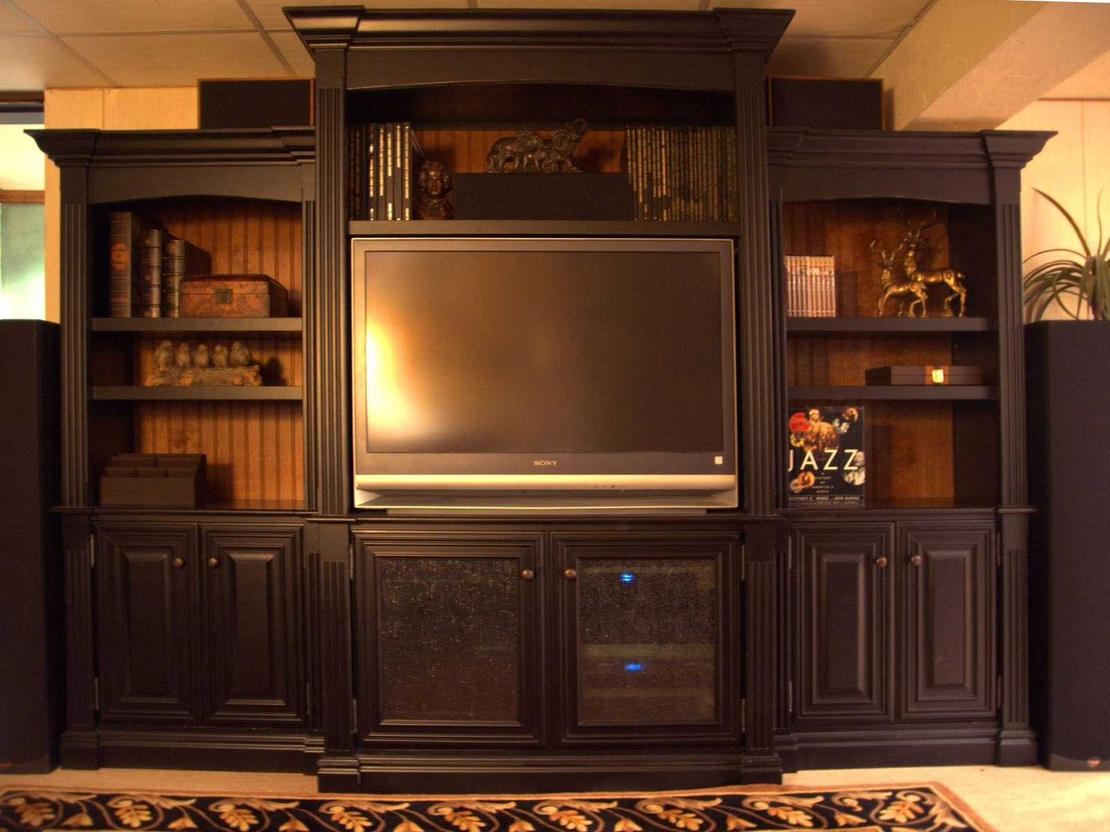 Handmade Entertainment Center By Terrys Fine Woodworking