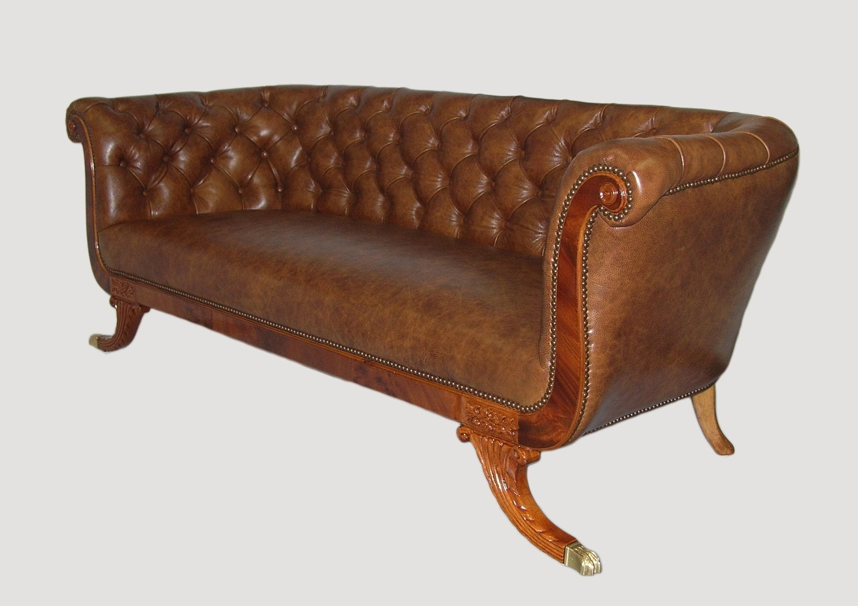 Buy a Hand Made Chesterfield Style Sofa, made to order from CLASSICELEGANCELLC CustomMade com