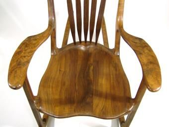 Custom Made Saddle Rocker