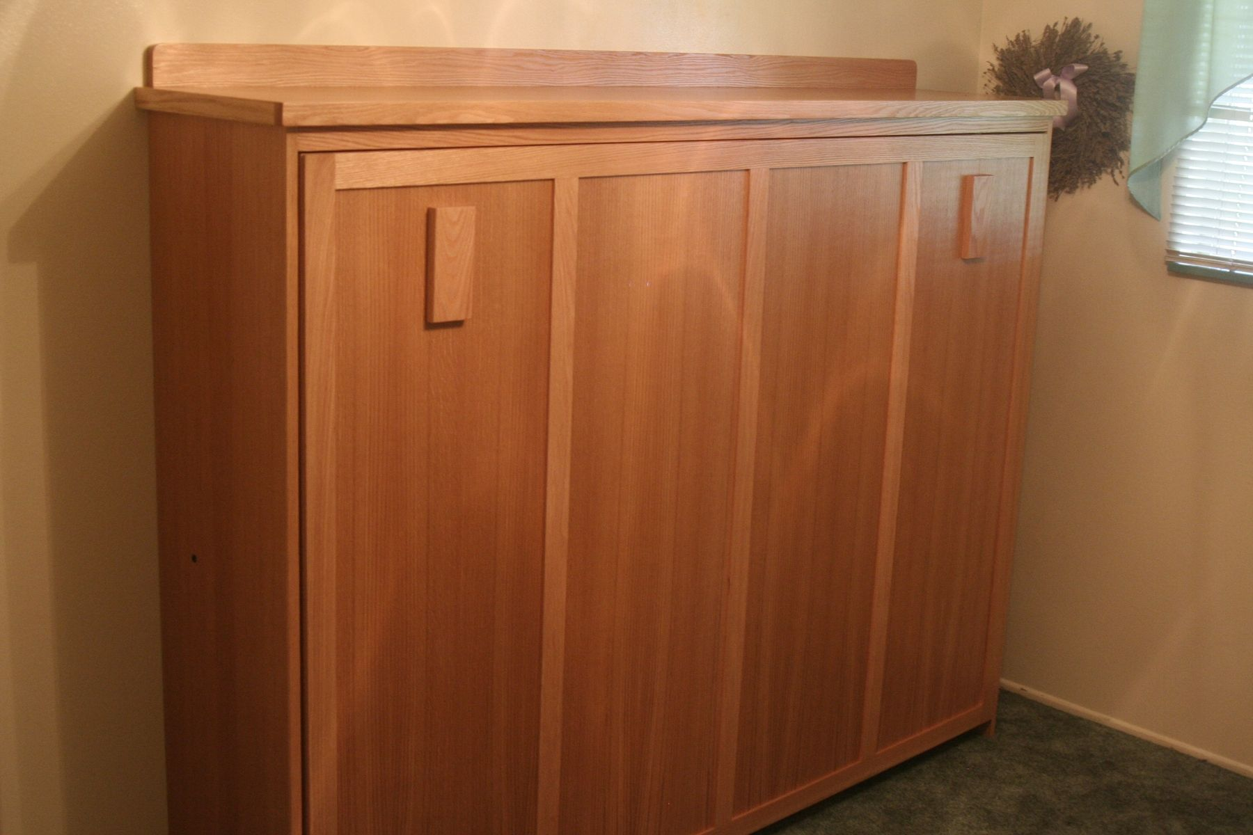 Custom Horizontal Wall Bed Full Size By Dee 39 S Cabinetry
