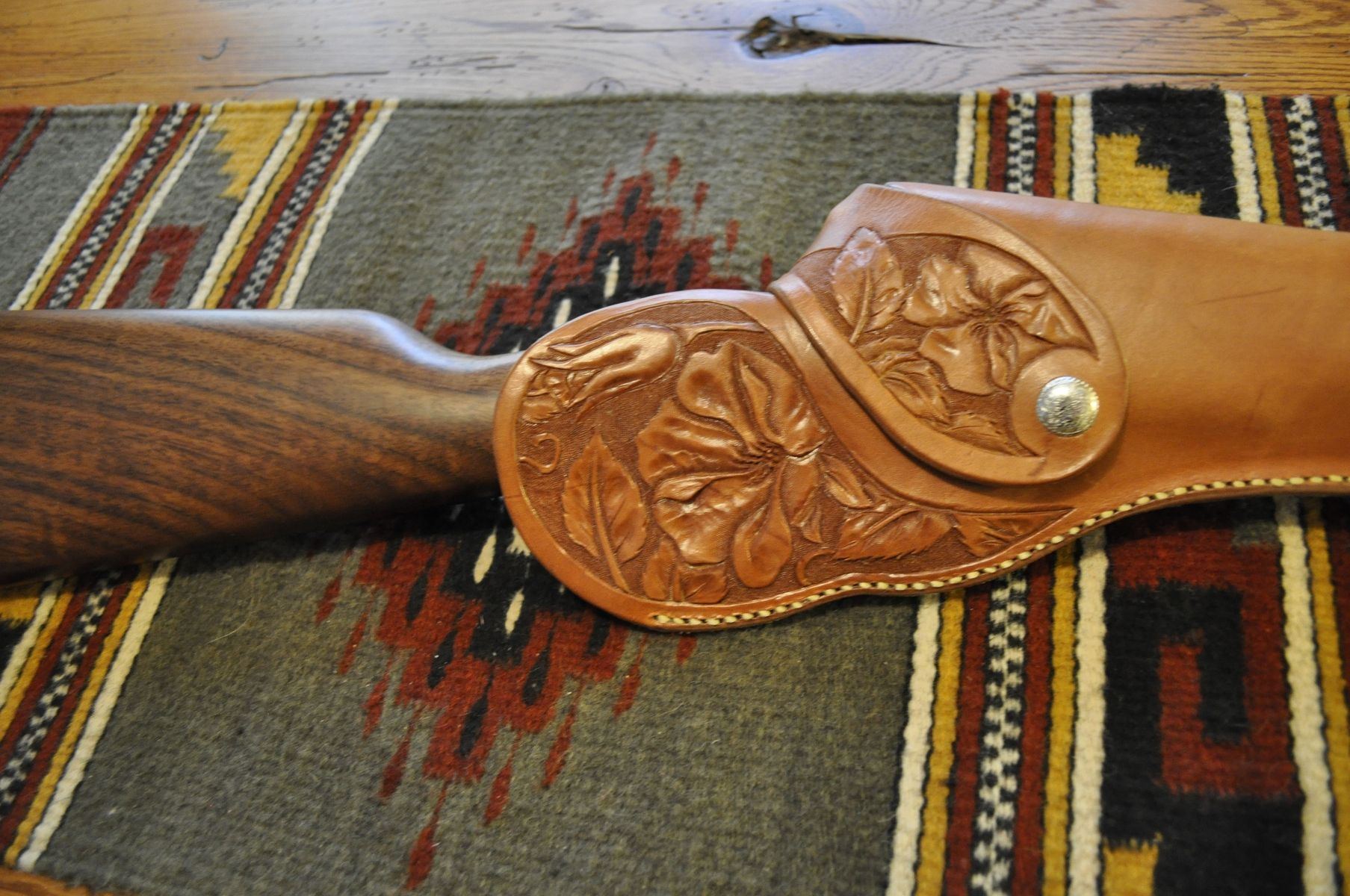 Hand Made Leather Rifle And Gun Scabbards And Sheaths By