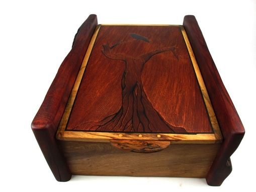 Custom Made Raven Jewelry Box
