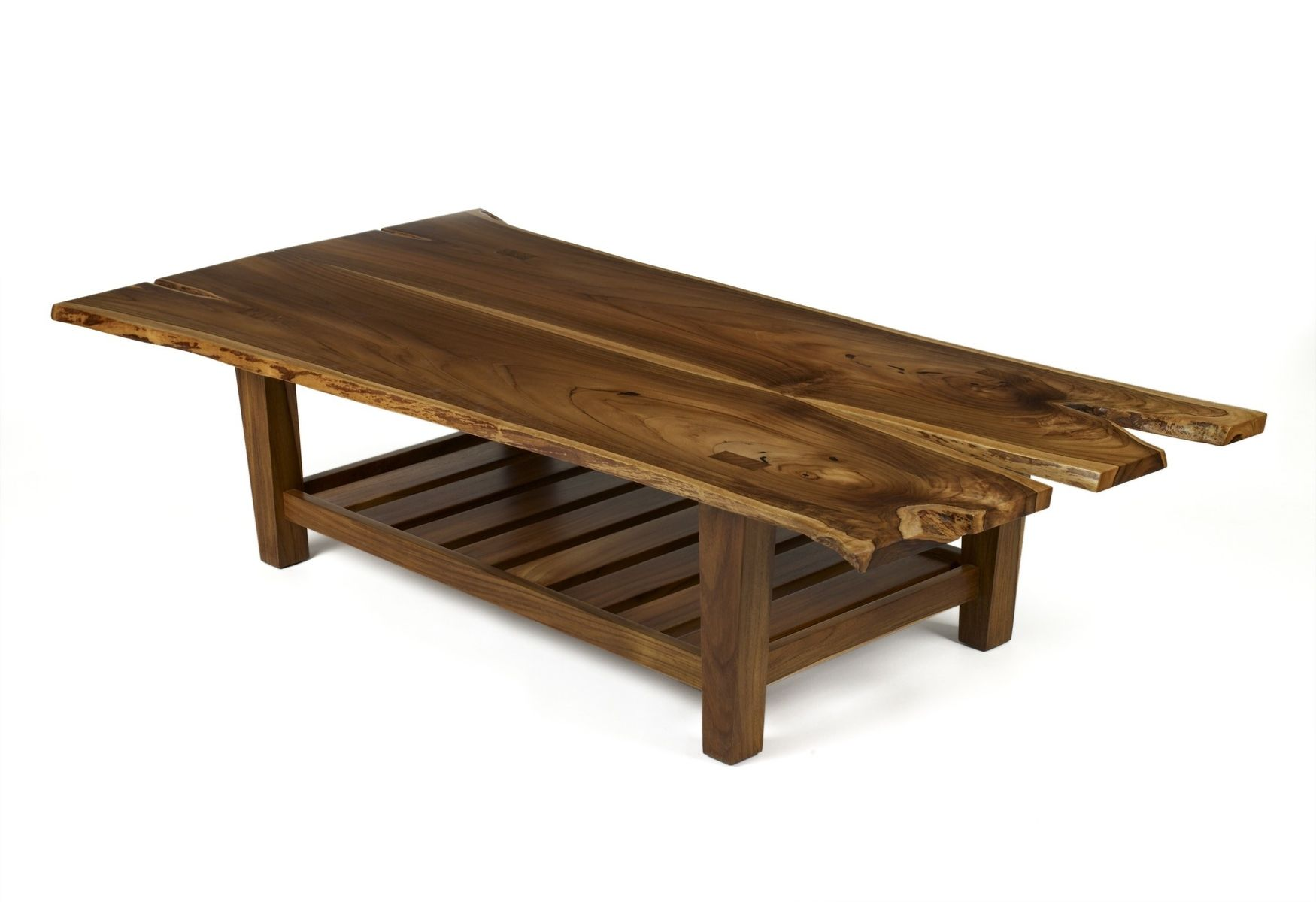 Hand Made Teak Coffee Table By Michael W Dreeben Inc