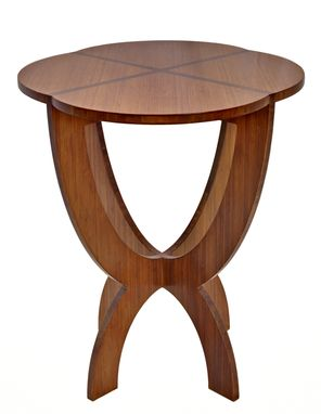Custom Made Bamboo Oval Chalice Table