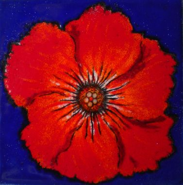 Custom Made Red Poppy
