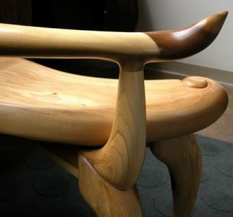 Custom Made 'Oyster' Chair