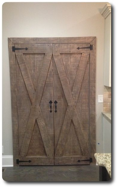 Custom Barn Pantry Doors Pair By Tennesseebarndoors