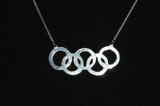 Custom Made Olympic Rings Necklace