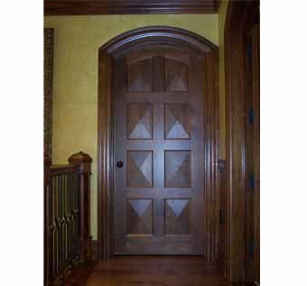 Custom Made Interior Doors - Walnut
