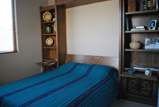 Custom Made Southwestern Murphy Bed