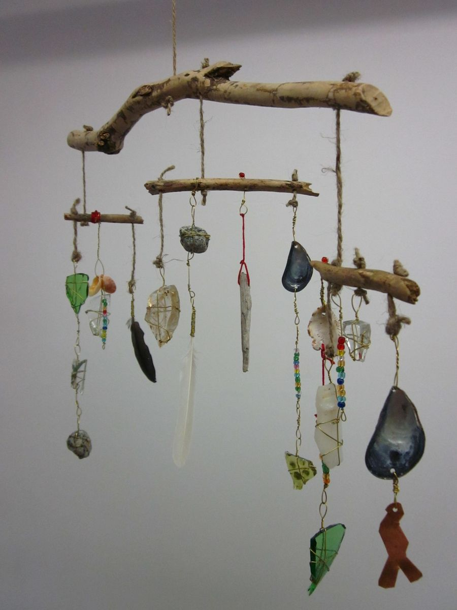Hand Crafted Tribal Boho Mobile By Chareststudios