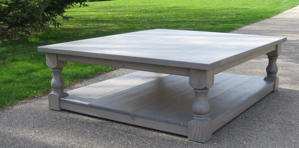 Buy A Handmade Large Pine Rustic Look Coffee Table Made To Order From Glessboards