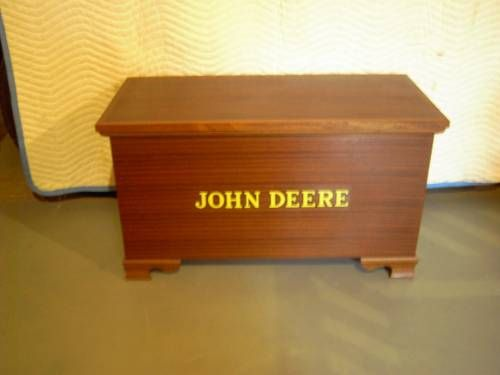 Custom Made Blanket Chest With John Deere Letters