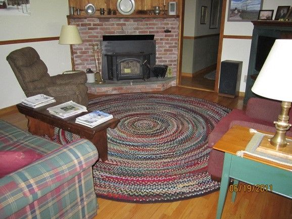 Hand Made Family Room Braided Rug By Country Braid House