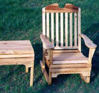 Custom Made Cypress Outdoor Deck Furniture By Randall