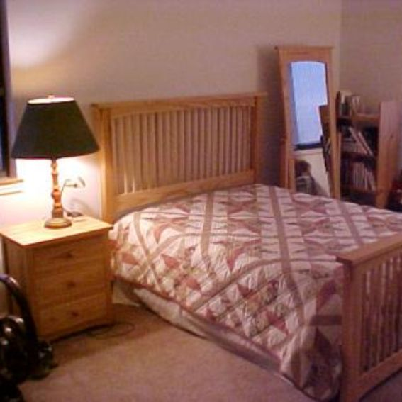 Handmade Mission Bedroom Set By The Plane Edge, LLC